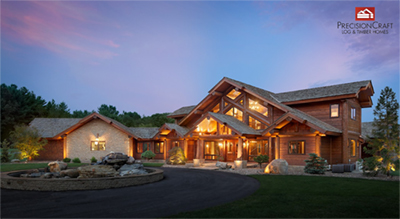 Sustainable Design Award - Bowling Green Log Home